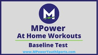 At Home Workout Challenge | Baseline Test