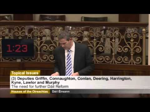 Special Debate with An Taoiseach on Dáil Reform
