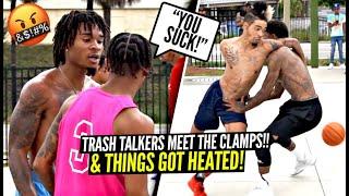 """YOU SUCK"" Trash Talkers Meet NEWEST Ballislife Member & Things GET HEATED!! Tim CLAMPS EVERYONE!"