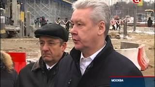 Смотреть видео ТВ Центр - Реконструкция Ярославского шоссе онлайн