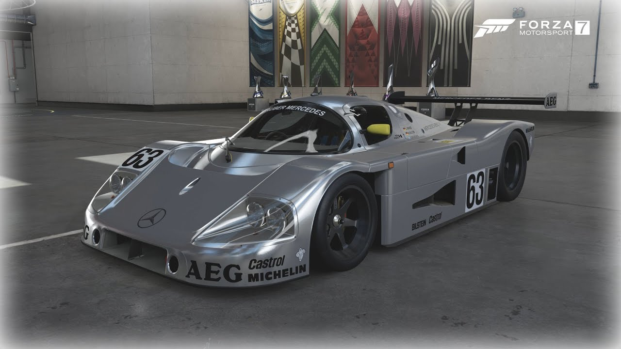 The Sauber C9 from Forza 7
