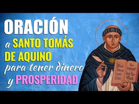 🙏 Oración a Santo Tomás de Aquino para tener DINERO Y PROSPERIDAD 💰