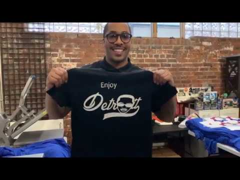 Enjoy Detroit is More Than T-shirts for Social Entrepreneur David Woods