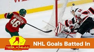NHL Goals Batted In