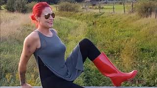 Riding and Rubber Boots Clip