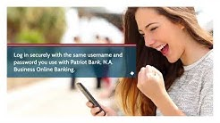Convenient Mobile Banking | Patriot Bank