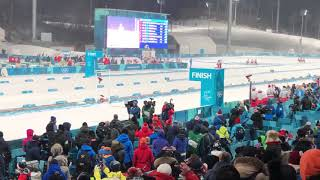 Belarus gold finish! Biathlon women relay! Pyeongchang 2018!