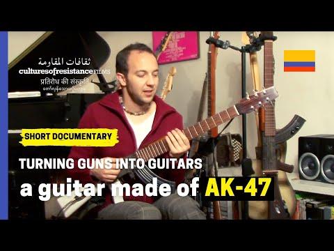 César López: Turning Guns into Guitars Colombia
