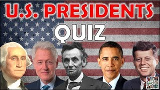 "How Many ""U.S. PRESIDENTS"" Can You Recognize? Test/Trivia/Quiz"