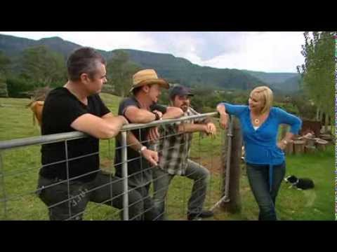 Inxs Farriss Brothers On Better Homes And Gardens