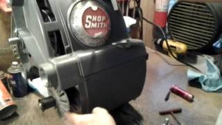 Setting The Shopsmith Mark V Speed Control