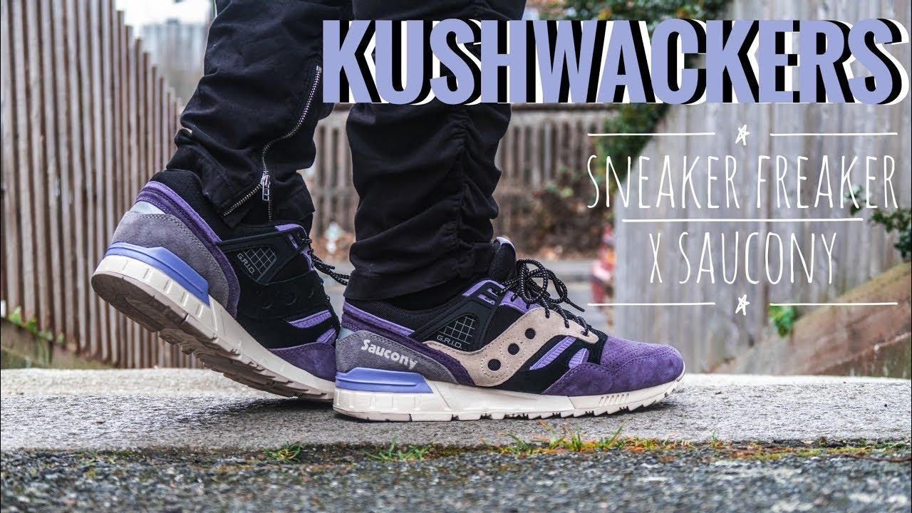 Sneaker Freaker x Saucony | Kushwacker