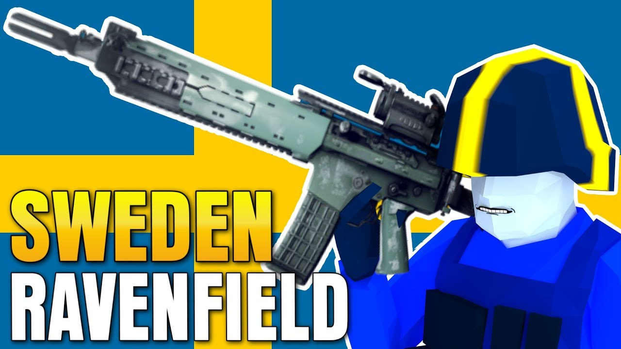 SWEDEN GUNS, TANKS, PLANES in RAVENFIELD (NEW Swedish Mod)