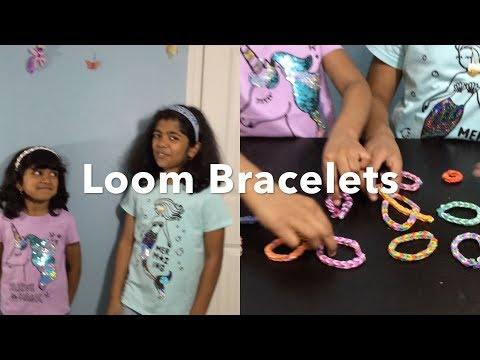 DIY, How To Make Loom Bracelets With Your Fingers,Rubber Band Bracelets