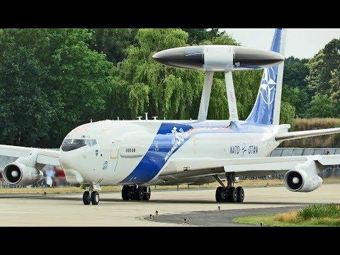 Boeing E3A AWACS; '35 Year NATO-AWACS' Painting; Geilenkirchen