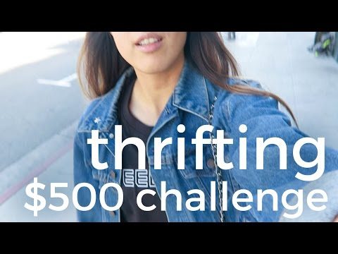 Thrifting to Resell Haul in Los Angeles: $500 Challenge | #2017FlipChallenge
