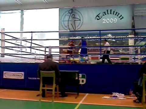 Nikita Molodkin vs Andrei Harchenko (EMV 2012(U-23) 64kg Final ) Raund 2