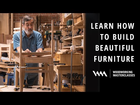 Learn how to build beautiful furniture with Paul Sellers | Woodworking Masterclasses
