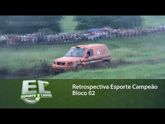 Retrospectiva Esporte Campeão: Relembre matérias que foram destaques no programa - bloco 02