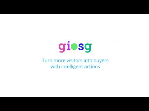 Giosg.com - Turn online store visitors into buyers with intelligent conversion marketing