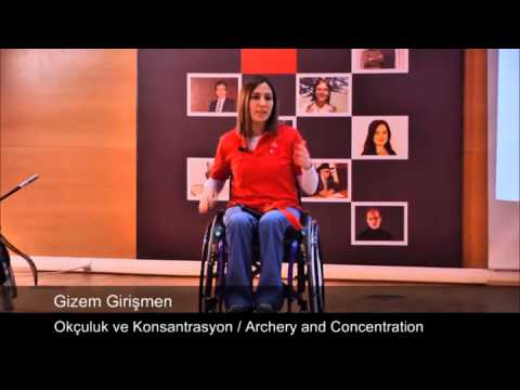 Okçuluk ve Konsantrasyon: Gizem Girismen at TEDxTunali