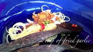Thai Banana Blossom Salad (Royal Recipe)