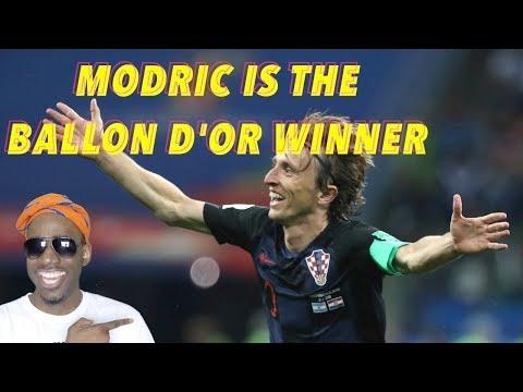 Modric is the Ballon D'OR Winner