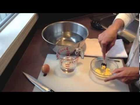 How to make homemade baby food egg yolk youtube forumfinder Images