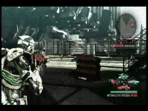 Vanquish Gameplay Xbox 360 - YouTube