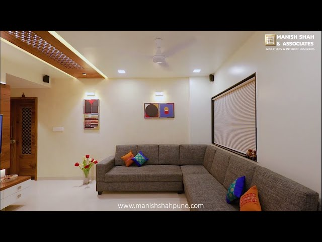 2 Bhk Compact Flat Interior Designing For Mr Anuj Gujar In Pune Warje Manish Shah Associates Youtube