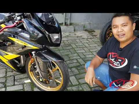 Review modifikasi ninja rr new 150 2 tak
