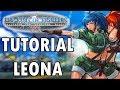 Aprenda a jogar com a Leona - TUTORIAL COMPLETO KOF 2002