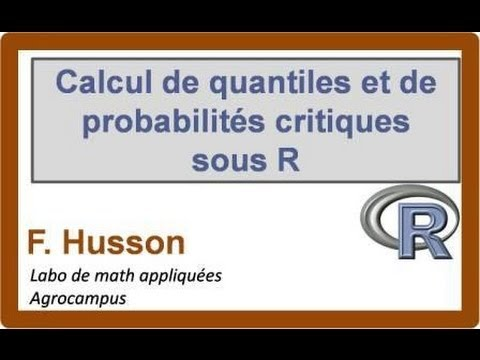 Calcul de quantile de probabilit critique et graphe d for Table quantile loi normale
