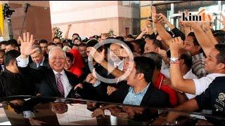Dr M: Tiada duit, tiada hadirin untuk Najib