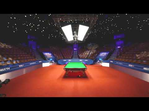 The Iconic One-Table Set-Up | Betfred World Championship