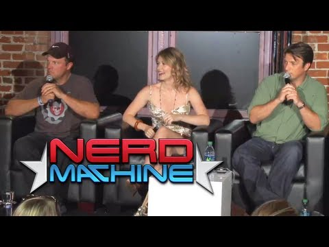Conversation with Nathan Fillion, Adam Baldwin, & Jewel Staite  Nerd HQ 2011 HD  Zachary Levi