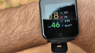 Goqii smart vital fitness watch accuracy and performance test.. genuine review