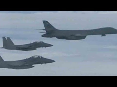 US conducts bombing drill with South Korea