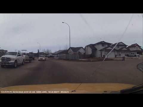 Idiot Driver in Grande Prairie, AB