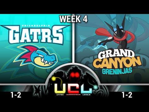 Pokemon ORAS Live Wi-fi Battle: Philadelphia Feraligatrs vs Grand Canyon Greninjas - Week 4