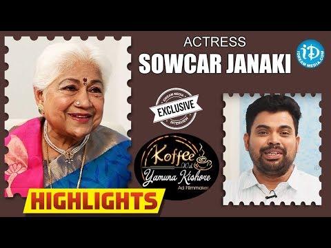 Actress Sowcar Janaki Interview -...