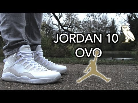 First Look at the Jordan 10 White OVO