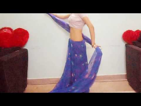 How To Wear Bollywood Saree Drape-How To Wrap Indian  Sari Drape /How To Tie Saree