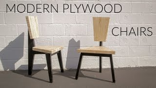 Two Chairs from One Sheet of Plywood // Rockler Plywood Challenge