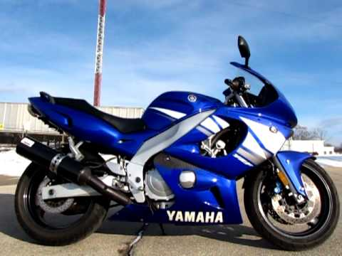 2003 yamaha yzf600r ts7208 u3881 youtube