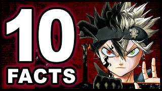Top 10 Asta Facts You Didn't Know! (Black Clover)