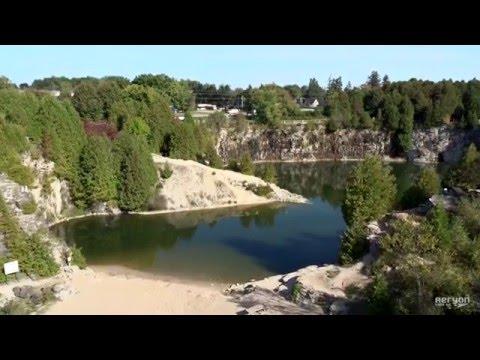 Aeryon SkyRanger Captures the Elora Quarry