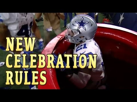 New NFL Celebration Rules: LEAKED