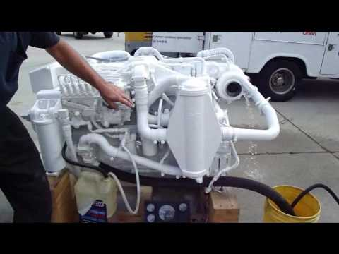 Cummins Marine Diesel C Series 8 3 Liter Youtube