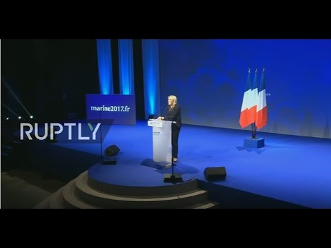 LIVE: Marine Le Pen holds electoral rally in Metz
